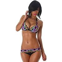 Push-Up Bikini Halter Triangolo slip di Esther donne regina senza