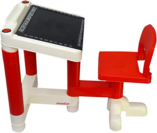 Ehomekart Baby Desk - Table Chair for Kids - (Red)