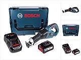 Bosch GSA 18V-32 Professional Akku Recipro- / Säbelsäge brushless in L-Boxx + 1x 6,3 Ah Akku EneRacer + Ladegerät