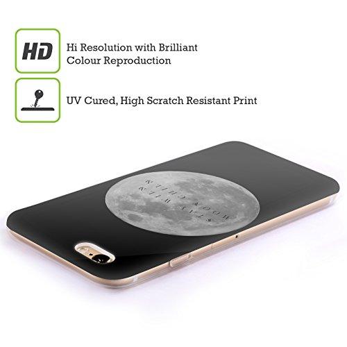 Offizielle Efty Mondphasen Raum Soft Gel Hülle für Apple iPhone 6 / 6s Mondkind
