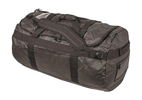 Wasserfest, trocken Kayake Rucksack, Schultertasche Sporttasche 65L, 90L, Tag oder 120L, Schwarz -