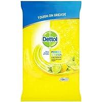 Dettol Potencia y fresca Cleaning Wipes Citrus, 126 Toallitas