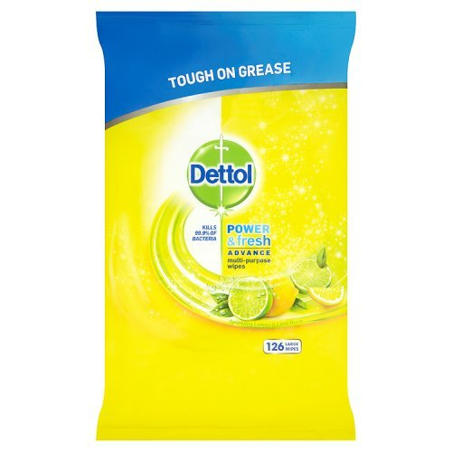 Alimentation & Fresh Lingettes de nettoyage lingettes Citrus, 126,DETTOL,