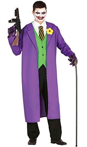 Imagen de disfraz de payaso joker para hombre