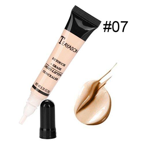 Gaddrt Palette Contour Kit face Eye dissimulateur Liquid Foundation fond crème Pro maquillage (G)