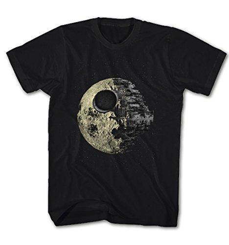 Herren T-Shirt Todesstern -Dark Side of the Moon- Star Wars Film Movie TV