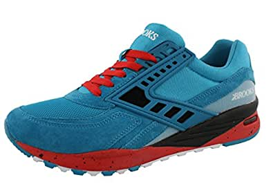 Brooks Mens City Regent Running Sneaker Caneel Blue 9.5 D(M) US