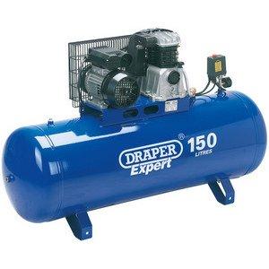 Draper 69337150-litre Couronne 2,2kW 230V fonctionnant stationnaire Compresseur d'air