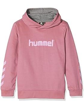 Hummel Kapuzenpullover Jungen & Mädchen - JUNIOR V KESS HOODIE AW17 - Trainingspulli langarm - Sweater Baumwolle...