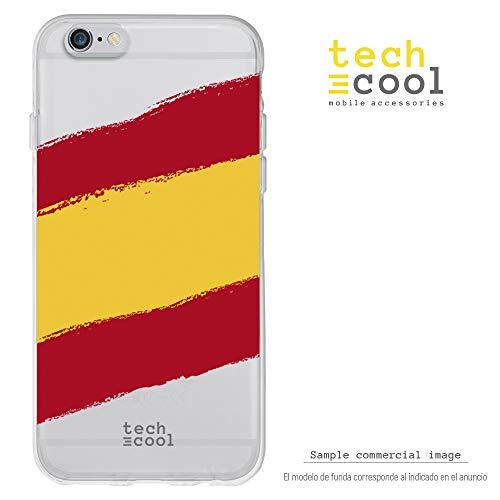1d545fde5ea Funnytech Funda Transparente para iPhone 6 / iPhone 6S [Gel Silicona  Flexible [Ultra Slim