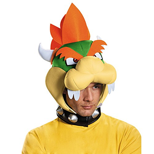 �-Lizenzartikel Super Mario grün-orange-gelb (Mario Prinzessin Kostüm)