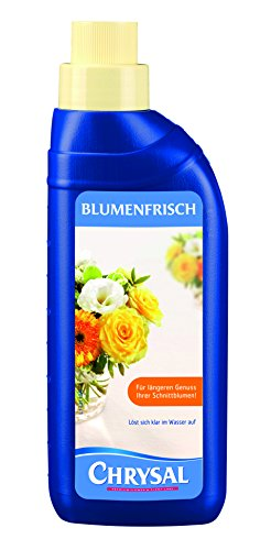 Chrysal Blumenfrisch Schnittblumennahrung, 500 ml - 4 C-messbecher
