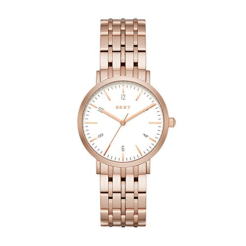 DKNY Ladies Watch Minetta Analog Casual Quartz Watch NY2504