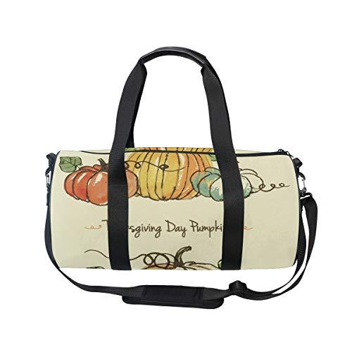 Day Kürbis-Sporttasche, Reisetasche für Damen und Herren, Gepäck Handtasche ()