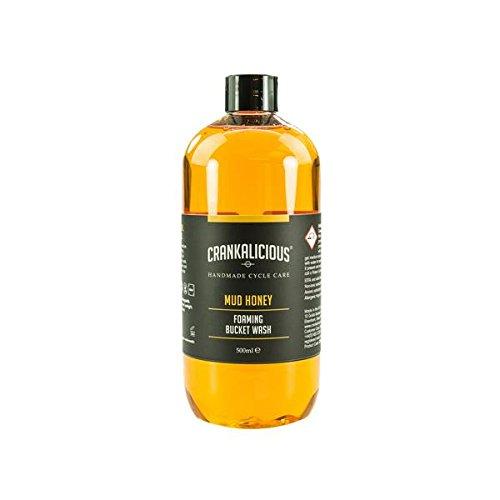 crankalicious-cycle-soins-boue-miel-seau-lavage-moussant-shampooing-de-nettoyage-pour-vlos-et-motos-