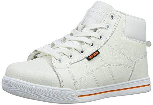 Scruffs - Scarpe di sicurezza in stile sportivo Bianco (bianco)