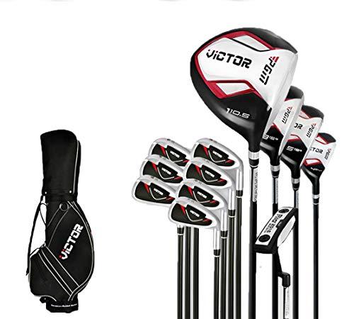 sxyp Ensemble Complet De Golf pour Homme avec Sac De Balle Standard Et Clubs De Golf Droitier...