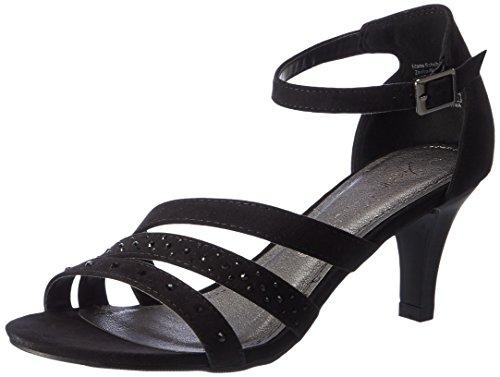jane-klain-283-745-sandales-bout-ouvert-femme-noir-schwarz-black-37