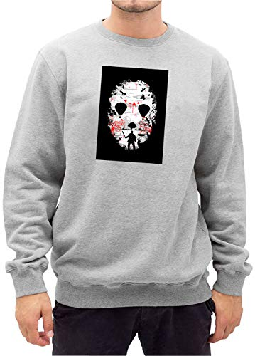 Certified Freak Crystal Lake Face Sweater Grey M