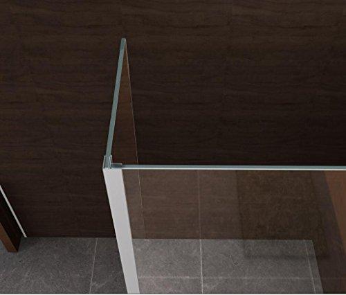 duschwand ecke Eckprofil zur Verbindung von zwei 8 mm Glasteilen (Tipo)