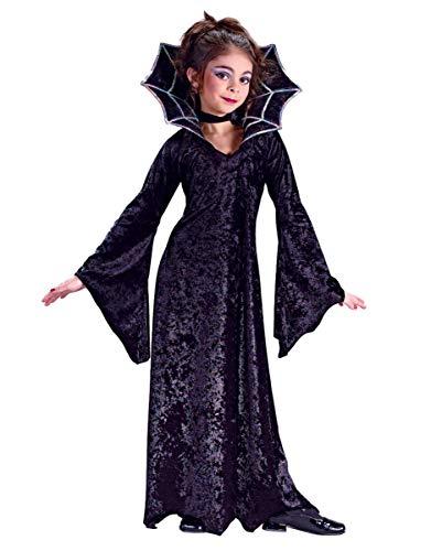 Horror-Shop Spiderella Vampir Prinzessin Mädchenkostüm Small