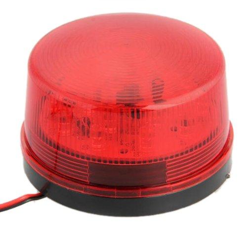 Preisvergleich Produktbild SODIAL(R) Alarm Licht Rot LED Warnlicht Strobe DC12V fuer Sicherheit Signalgeber NEU fuer das Sicherheits und Heimautomationssystem