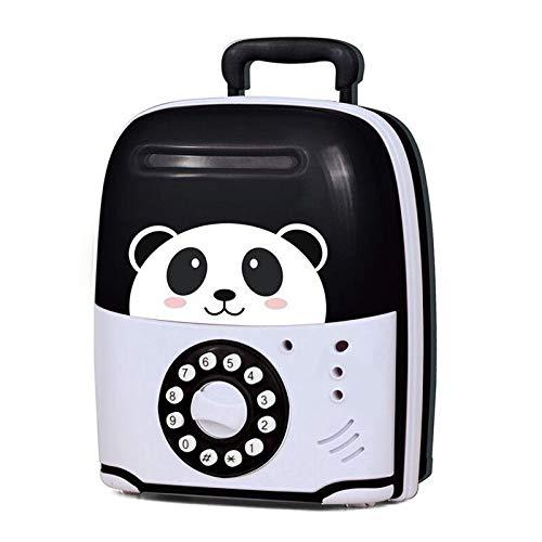 FJTHY Panda Hucha Inteligente Que Cuenta Dinero Y