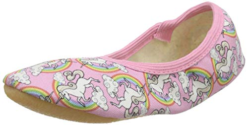Beck Mädchen Rainbow Gymnastikschuhe, Pink (Rosa 03), 26 EU