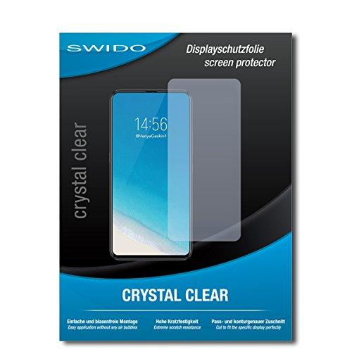 SWIDO Schutzfolie für Vivo NEX S [2 Stück] Kristall-Klar, Hoher Härtegrad, Schutz vor Öl, Staub & Kratzer/Glasfolie, Bildschirmschutz, Bildschirmschutzfolie, Panzerglas-Folie
