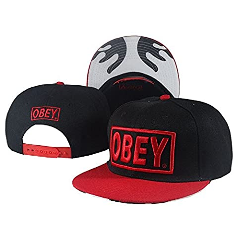 Shiemoly-PP Unisex Adjustable Fashion Leisure Baseball Hat OBEY Snapback Dual