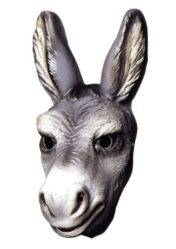 Cesar–A505–001–Kostüm–Maske–Fabel von la Fontaine–Ane (Esel-kostüm Für Erwachsene)