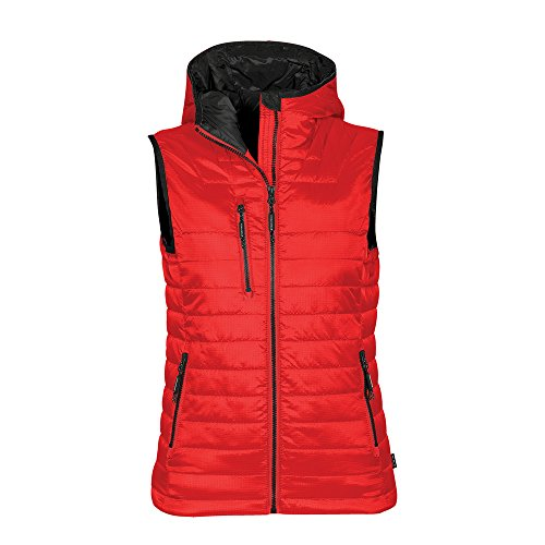 Stor MTech Womens Gravity Thermal Vest True Red/ Black