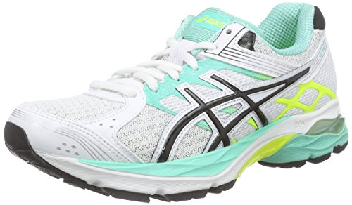 ASICS Gel-pulse 7 - Scarpe Running Donna, Bianco (white/silver/flash Yellow 0193), 42 EU Bianco (white/silver/flash Yellow 0193)