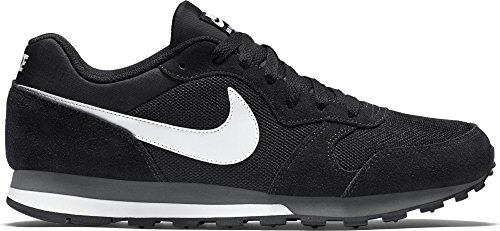 Nike Men's Nike Md Runner 2 Shoe, Scarpe Sportive Indoor Uomo Multicolore (Black/white-anthracite)