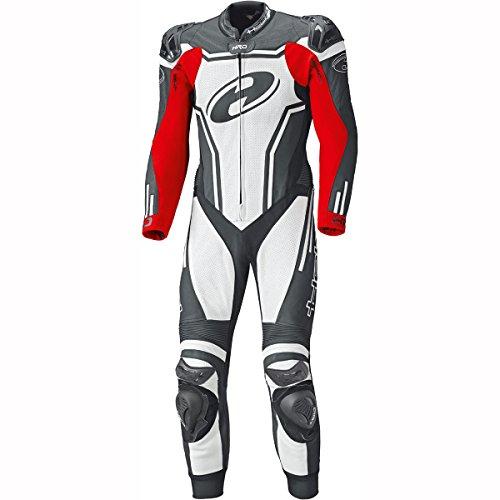 "NEU! HELD Motorrad Lederkombi ""Rush"" in Schwarz/Weiß/Rot (Größe: 50)"