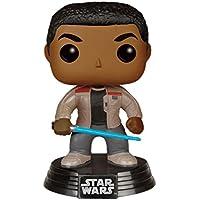 Funko FK 6422 - POP! Star Wars The Force despierta: Finn sable de luz con la figura de vinilo, 10 cm