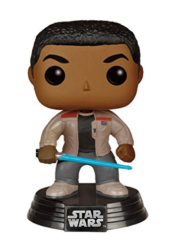 Funko-FK-6422-POP-Star-Wars-The-Force-despierta-Finn-sable-de-luz-con-la-figura-de-vinilo-10-cm