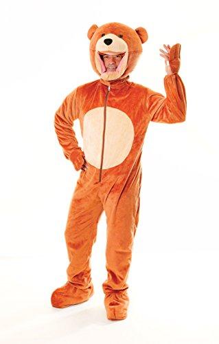 Teddy Bär Fasching Anzug Kostüm (Anzug Bär Kostüm Teddy)