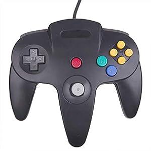 giZmoZ n gadgetZ Controller schwarz ergänzender Controller zur Fernbedienung für Nintendo N64