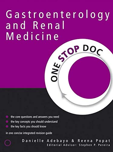 One Stop Doc Gastroenterology and Renal Medicine (English Edition)