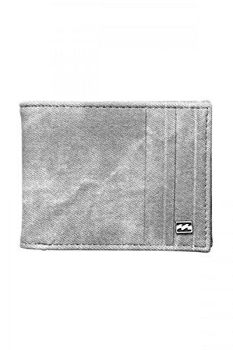 Billabong BACKWASH WALLET Münzbörse, 11 cm, Grey