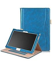 Robustrion Smart Multipurpose Folio Flip Stand Case Cover for Lenovo Tab 4 10 - Blue