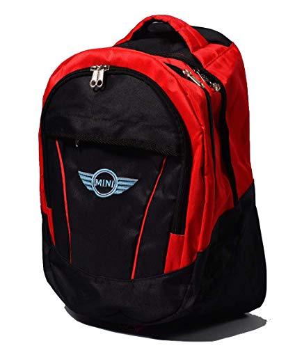 Unbekannt Rucksack mit Mini Cooper-Logo, Unisex, Freizeit Schule, Freizeit -