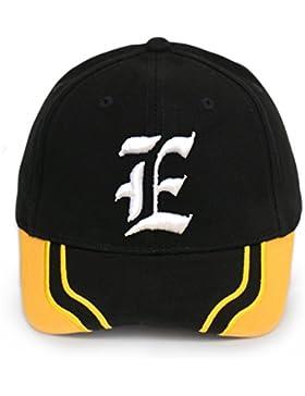 Para hombre para mujer gorro de bordado Gorra de béisbol Casual 3d gótico A-Z letras sombreros tapas correa ajustable