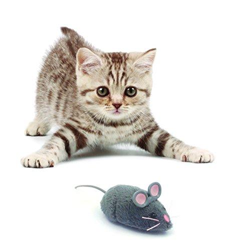 HEXBUG 503502 – Mouse Cat Toy grau, Elektronisches Spielzeug - 4
