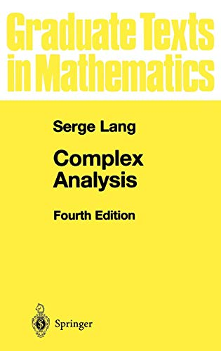 Complex Analysis (Graduate Texts in Mathematics, Band 103)