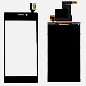 Écran de rechange LCD remplacement + Ecran vitre tactile pour Sony Xperia M2 D2302 D2303 D2305 D2306 (Noir)