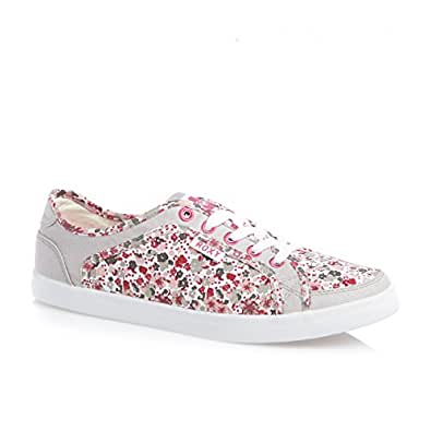 Roxy Sneaky Dye Shoes - Bright Red