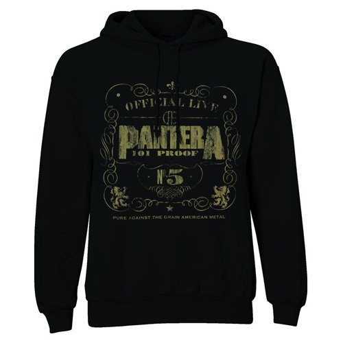 Felpa con cappuccio, motivo: pantera 101 proof (in XL)