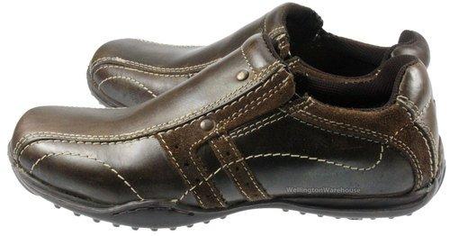 Red Tape Walkham Chaussures en cuir à enfiler Garçon Marron - marron